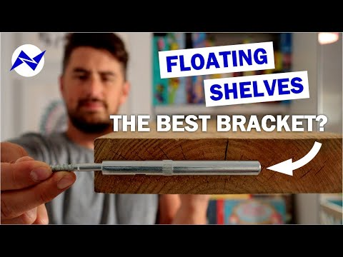 Easy DIY Floating Shelves   The Best Floating Shelf Bracket?