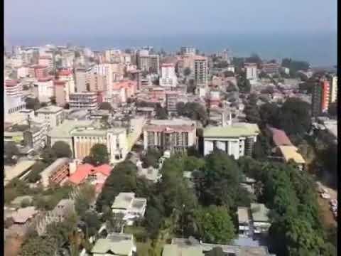 Une belle image de la ville de la #Guinée #Conakry