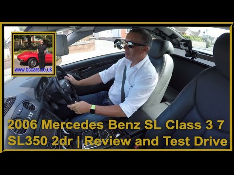 Mercedes Benz SL Class 3 7 SL350 2dr Review and Virtual Video Test Drive