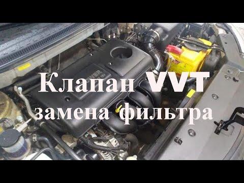 Замена фильтра клапана системы VVT. Emgrand EC7