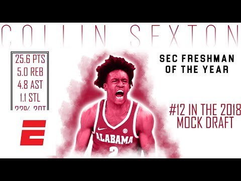Collin Sexton's 2018 NBA Draft Scouting Video | DraftExpress | ESPN