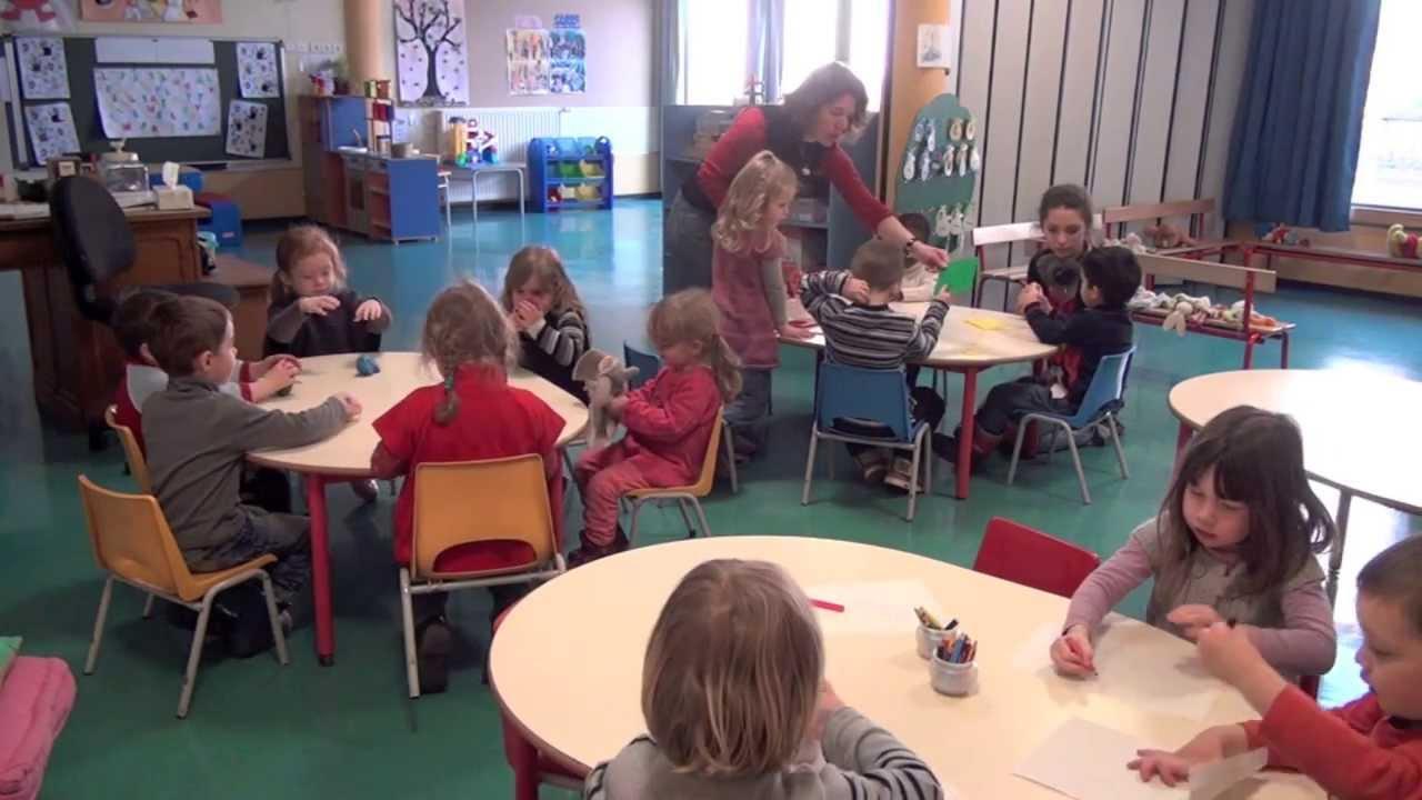 Une journ e en classe de maternelles youtube - Image classe maternelle ...