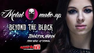 Metal make-up: BEYOND THE BLACK - Jennifer Haben stage make-up tutorial