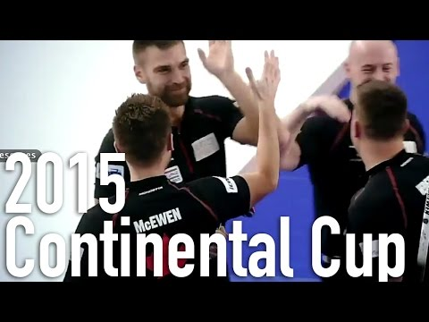 McEwen/McEwen vs. Svae/Sloan - 2015 Continental Cup Mixed Doubles