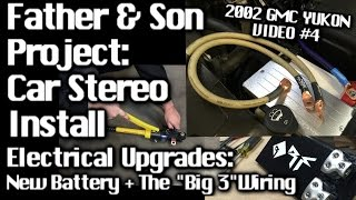 Father & Son Car Audio Install - GMC Yukon - E...