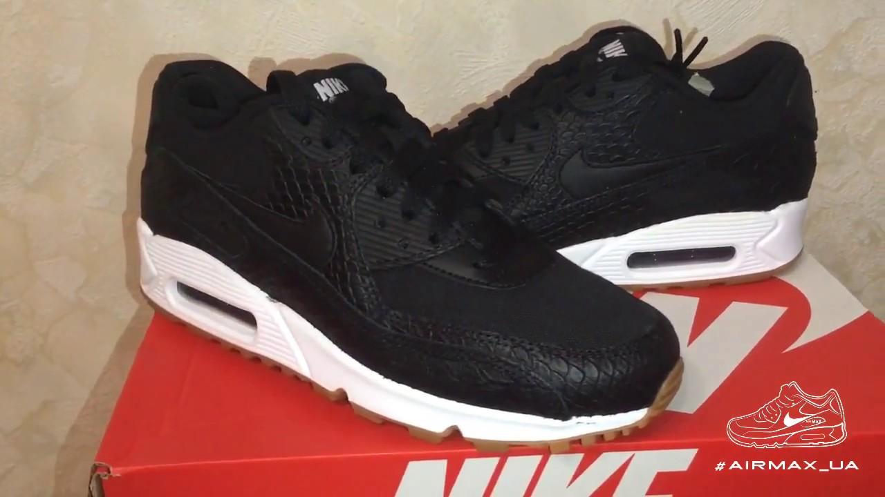 half off 8e315 dc577 WMNS Nike Air Max 90 PRM Black