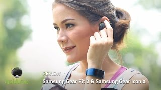 Samsung Gear Fit2 & Gear Icon X Review Indonesia