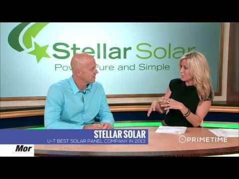Stellar Solar CEO Kent Harle on Primetime News with Taylor Baldwin