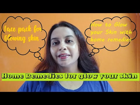 Home Remedies for Glowing Skin || DIY Home Remedy || Bengal Vlogger Susmita