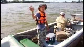 Рыбалка Астрахани - отдых с детьми в июле.