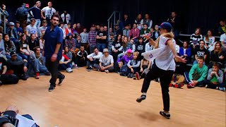 B-girl Tanya vs. Medved (Future Flava) - Top Rock
