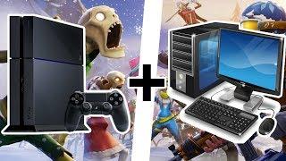 JAK MŮŽE PS4/XBOX HRÁČ HRÁT FORTNITE S PC HRÁČEM? - Tutorial