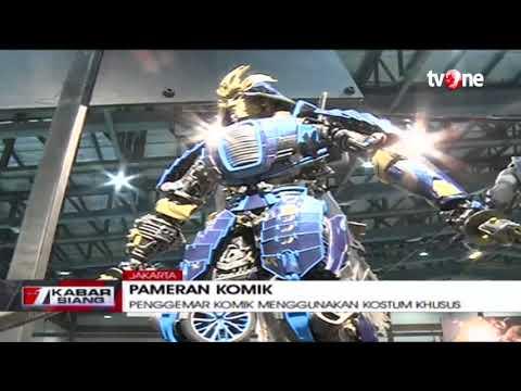 Ajang Pameran Komikon Digelar di JHCC Jakarta