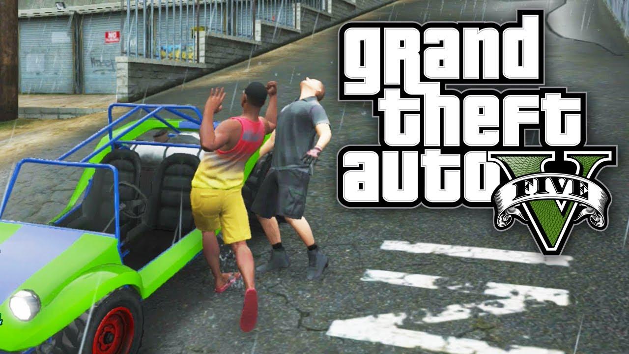 GTA 5 Online Let's Play (Part 1) - TOY STORY CAR! - Beach Bum DLC (GTA V Online) - YouTube