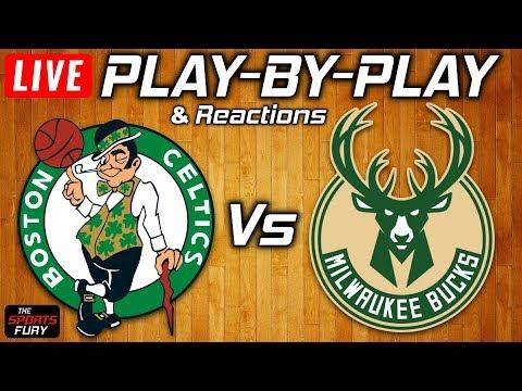 Celtics Vs Bucks | Live Play-By-Play & Reactions