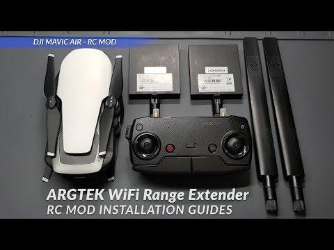 DJI Mavic Air - ARGtek WiFi Range Extender Installation Guides