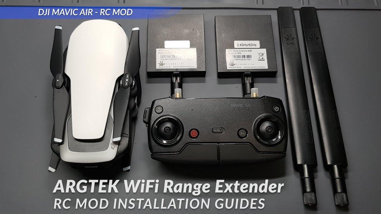 WiFi Signal Range Extender For DJI Mavic Air/Pro/Spark, MAVICEXT8