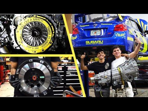 HOW TO Replace the Clutch in a Subaru WRX STI! (2008-2021STI)