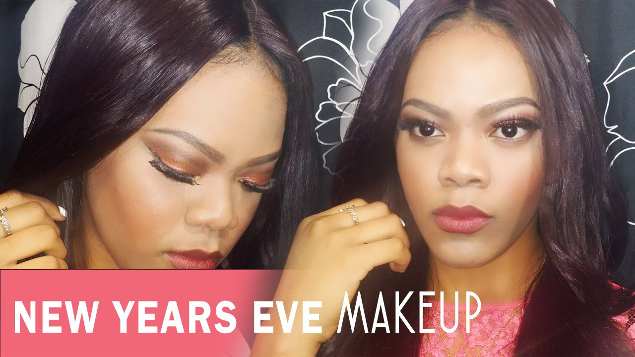New Years Eve Makeup Tutorial: Collaboration With Ninachka ...