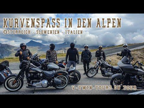 Motorradreise Alpen 2020: Mit der Harley unterwegs in Österreich, Slowenien und Italien