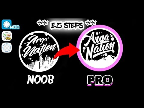 HOW TO MAKE PRO LOGO LIKE TRAP NATION + [AVEE PLAYER MOD & PICSAY PRO] (FREE DOWNLOAD LINK)