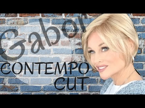 Gabor CONTEMPO CUT Wig Review | Sandy Blonde GL14-22 | Lightweight & Wispy! | STYLING