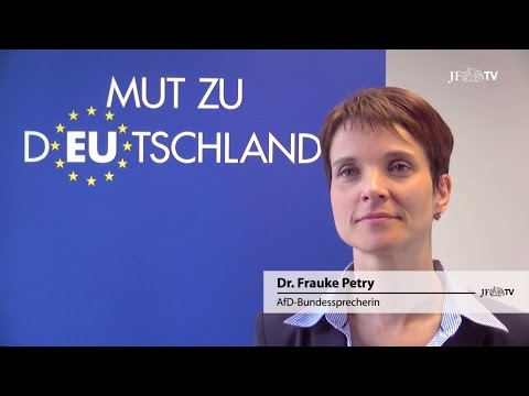 JF-TV DIREKT Frauke Petry: