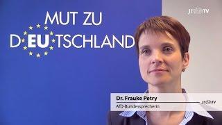 JF-TV DIREKT Frauke Petry: