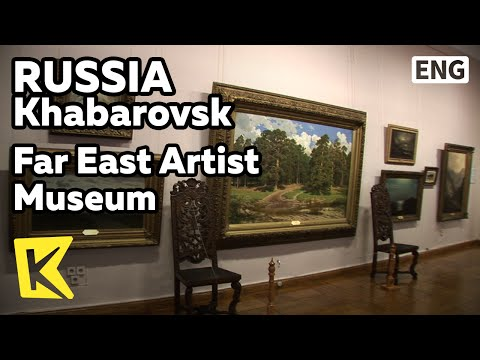 【K】Russia Travel-Khabarovsk[러시아 여행-하바롭스크]극동 그림 전시, 극동 미술관/Far East Artist Museum/Painting/Ilya Repin