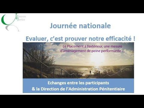 Échange entre les participants et la Direction de l'Administration Pénitentiaire