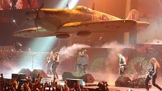 Iron Maiden - Aces High, Live at The SSE Arena, Belfast, Northern Ireland, 02 August 2018