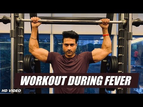 Workout During FEVER Or Cold? Good Or Bad | Info By Guru Mann