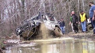 Land Rover Defender 90 V8  **EXTREME 4x4 CHALLENGE OFF-ROAD**