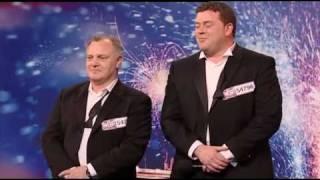 Video Andy & Ben Roberts - Used Car Dealers - Britains Got Talent 2009 Episode 1 - Saturday 11th April download MP3, 3GP, MP4, WEBM, AVI, FLV Agustus 2018