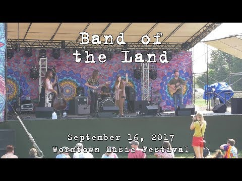 Band of the Land: 2017-09-16 - Wormtown Music Festival; Greenfield, MA [4K]