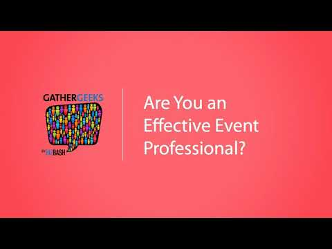 Are You an Effective Event Professional? (Episode 85)