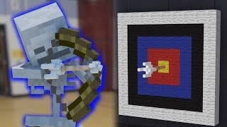 monster school in real life archery minecraft animation