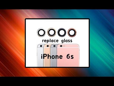 Iphone 6s Plus Replace Camera Glass. Замена стекла камеры