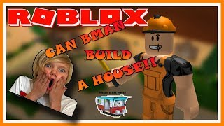 CAN AN 8 YR OLD BUILD A HOUSE? | ROBLOX | Family Friendly | Kid Gaming | E-Rated |