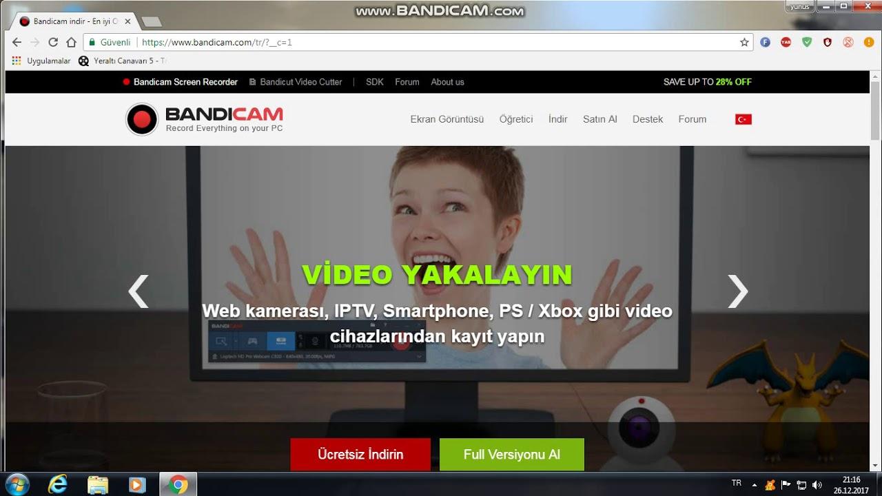 Rahat video kaydı için Bandicam nasıl kurulur