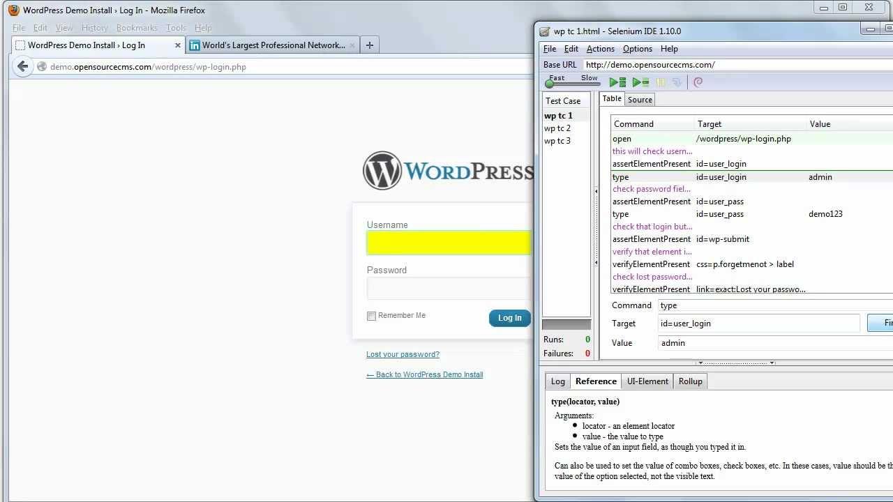 9  How to use Locator to identify the webelement using selenium IDE ? -  [Online Selenium Training]