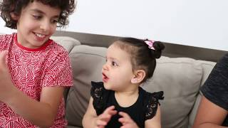 Sami and adel Pretend Play The Boo Boo story Amira
