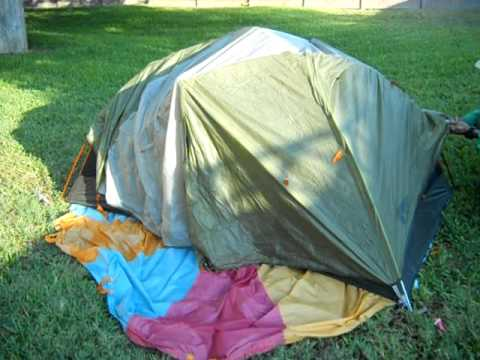 Ten Minute Tent REI Quarter Dome T2 Backpacking Inside-Out Rainfly Technique 1643 & Ten Minute Tent: REI Quarter Dome T2 Backpacking Inside-Out ...