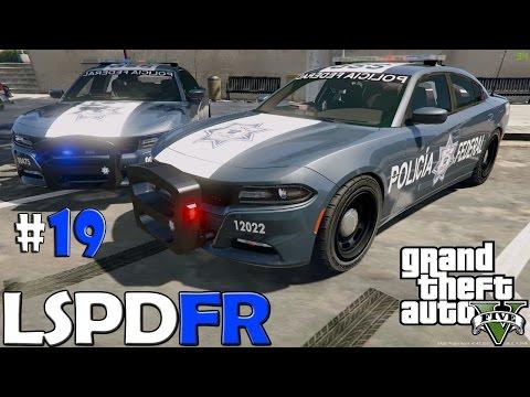 GTA V LSPDFR #19 | POLICÍA FEDERAL DE MÉXICO | TheAxelGamer