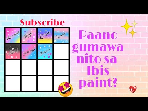 How To Put A Box And Name?? Use Ibis Paint See Description 👇