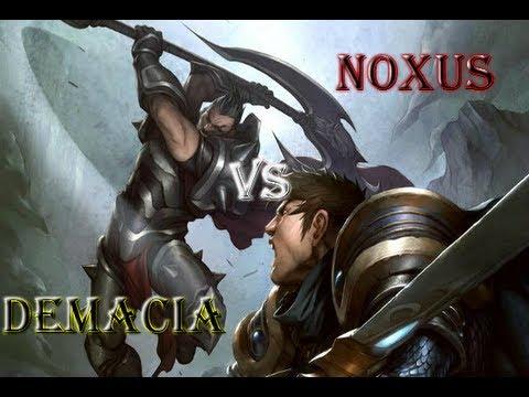 Demacia vs Noxus
