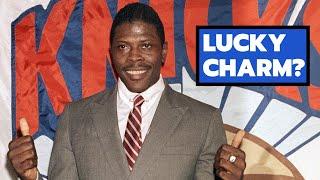 Patrick Ewing To Represent The Knicks At The Draft Lottery! Knicks Fan Appreciation Night