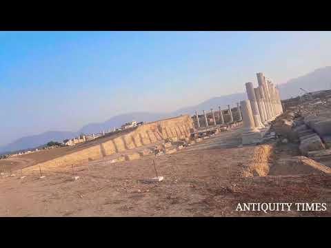 North-Sacred Agora, Laodikeia Ancient City on the Lycus