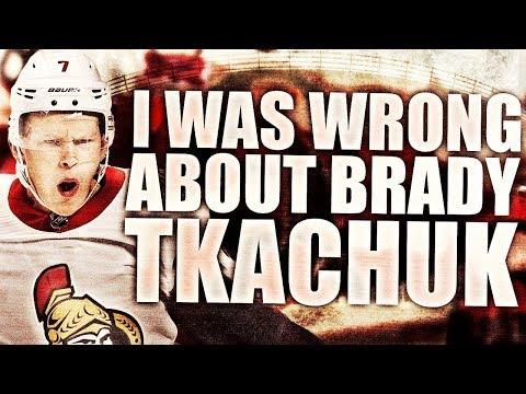 I Was Wrong About Brady Tkachuk (Ottawa Senators 4th Overall 2018 NHL Draft Pick - Tkachuk Is Good)