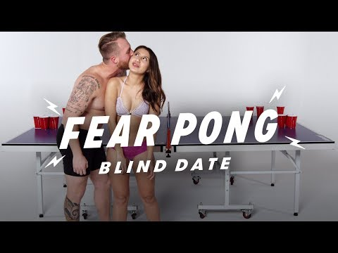 Blind Dates Play Fear Pong (Christian vs. Ren)